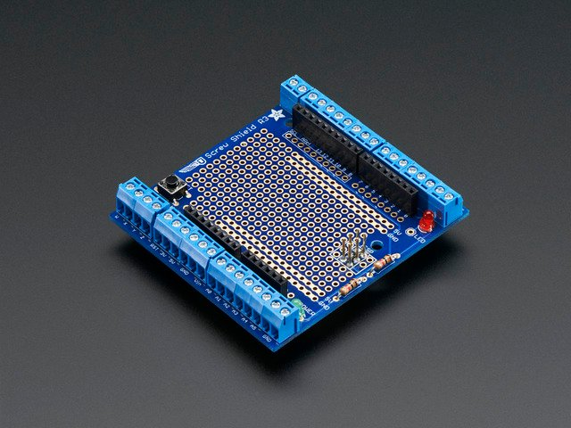 Proto-Screwshield (Wingshield) R3 Kit for Arduino