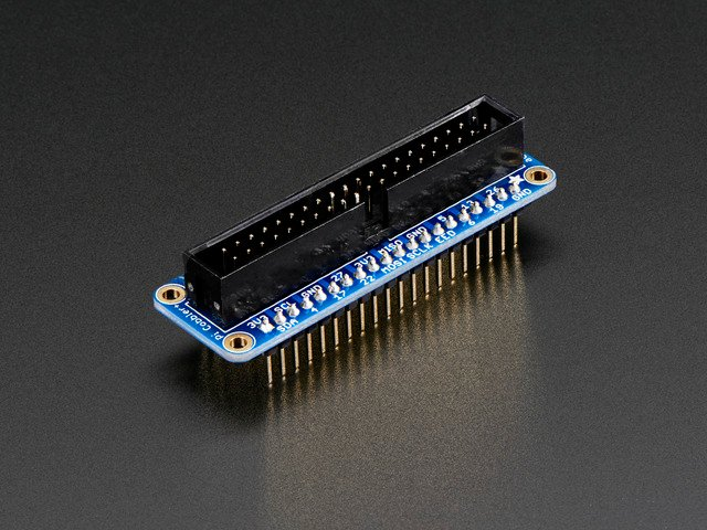 Adafruit Pi Cobbler + Kit- Breakout Cable for Pi B+/A+/Pi 2/Pi 3