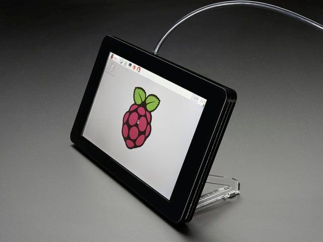 """Pimoroni Raspberry Pi 7"""" Touchscreen Display Case - Noir"""