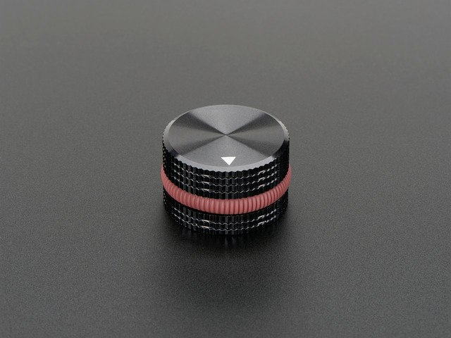 "Solid Machined Metal Knob - 1"" Diameter"