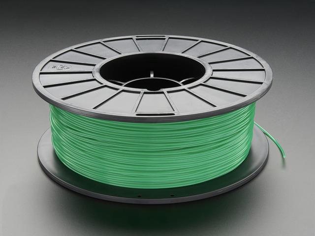 PLA Filament for 3D Printers - 1.75mm Diameter - Green - 1KG