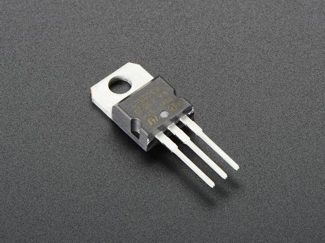 5V 1.5A线性稳压器-7805至-220
