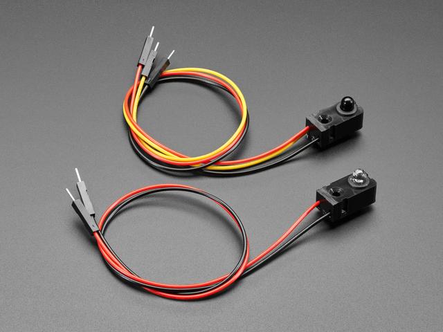 IR Break Beam Sensor with Premium Wire Header Ends - 5mm LEDs