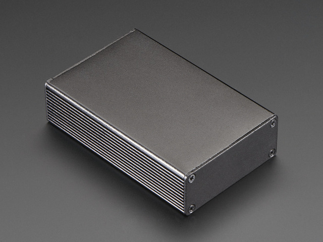 Extruded Aluminum Enclosure Box - 100mm x 67mm x 26mm