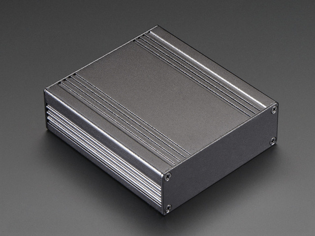 Extruded Aluminum Enclosure Box - 94mm x 83mm x 30mm