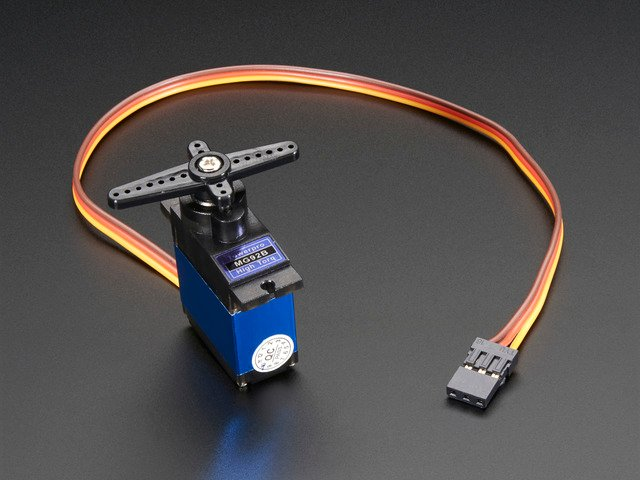 Micro Servo - High Powered, High Torque Metal Gear