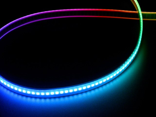 Adafruit DotStar Digital LED Strip - Black 144 LED/m - 0.5 Meter