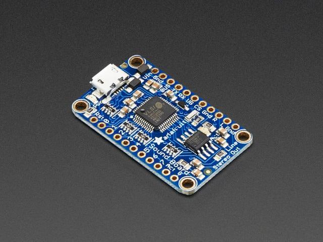 Adafruit Audio FX Mini Sound Board - WAV/OGG Trigger - 2MB Flash