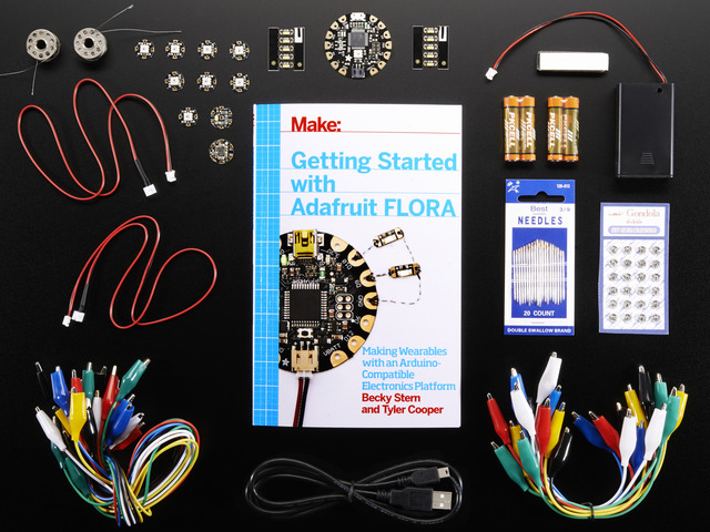 Getting Started with Adafruit FLORA Book Pack