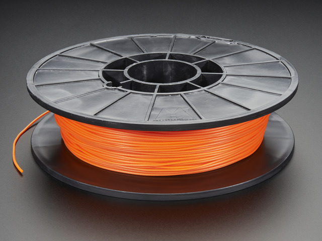 Cheetah NinjaFlex Filament - 1.75mm - Liquid Hot Lava - 0.5 Kg