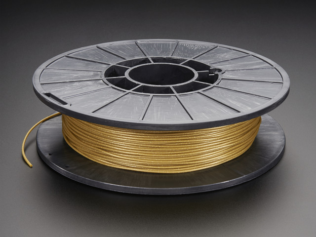 NinjaFlex - 1.75mm Diameter - Satin Sheen Gold - 0.50 Kg