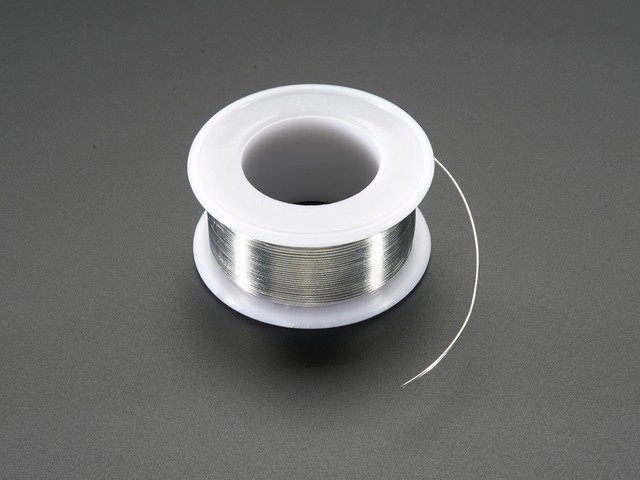 "Solder Wire - RoHS Lead Free - 0.5mm/.02"" diameter"