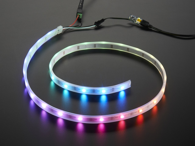 Adafruit NeoPixel LED Strip Starter Pack - 30 LED meter - White