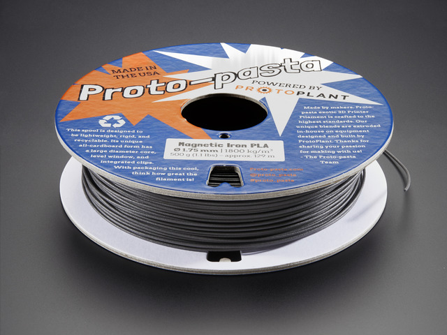Proto-Pasta - 1.75mm Magnetic Iron Filament