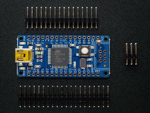 Atmega32u4 Breakout Board