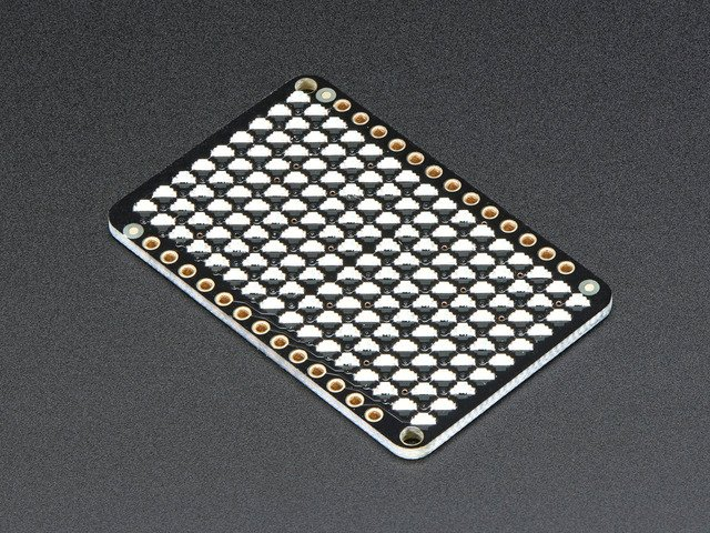 LED Charlieplexed Matrix - 9x16 LEDs - Blue