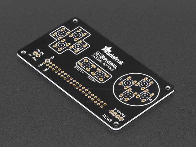 PiGRRL 2.0 Custom Gamepad PCB