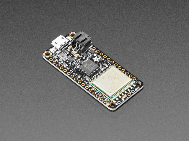Adafruit Feather 32u4 RFM95 LoRa Radio- 868 or 915 MHz