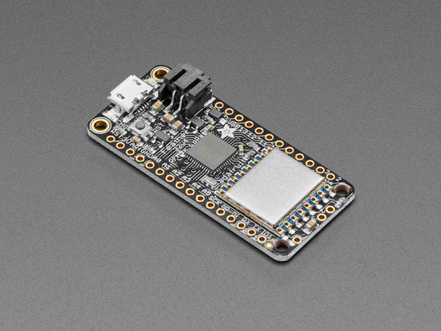 Adafruit Feather 32u4 RFM96 LoRa Radio - 433MHz