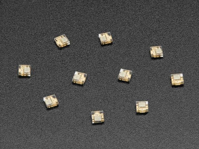 DotStar Micro LEDs (APA102–2020) - Smart SMD RGB LED - 10 pack