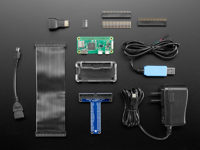 Raspberry Pi Zero W Starter Pack - Includes Pi Zero W