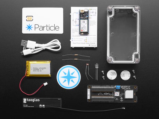 Particle Asset Tracker ? 3G Americas/Aus