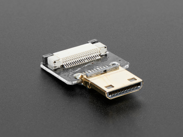 DIY HDMI Cable Parts - Straight Mini HDMI Plug Adapter