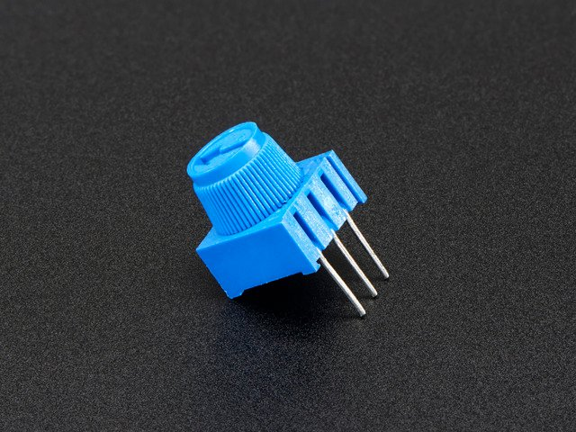 Breadboard trim potentiometer