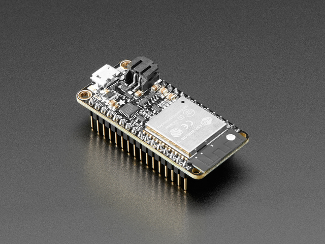 Adafruit HUZZAH32 – ESP32 Feather Board (pre-soldered)