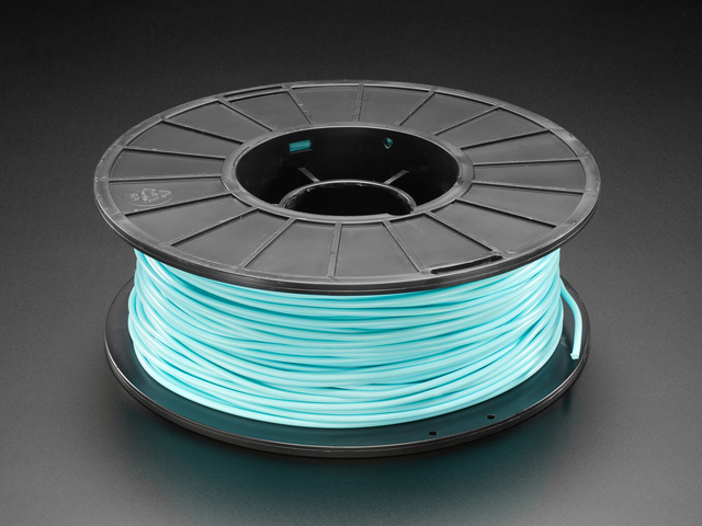 PLA Filament for 3D Printers - 2.85mm Diameter - Aqua - 1.0 Kg