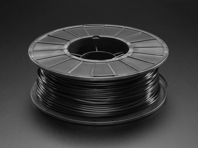 PLA Filament for 3D Printers - 2.85mm Diameter - Black - 1.0Kg