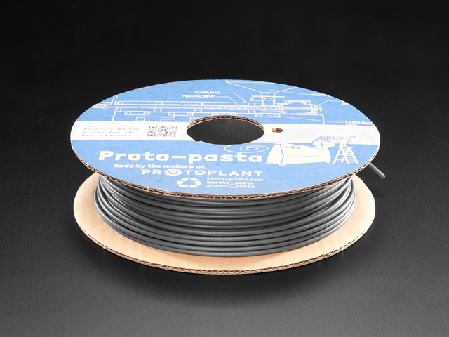 Proto-pasta - 2.85mm Diameter - Magnetic Rustable Iron Filament