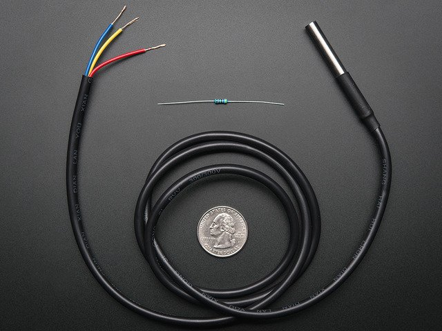 Waterproof 1-Wire DS18B20 Compatible Digital temperature sensor