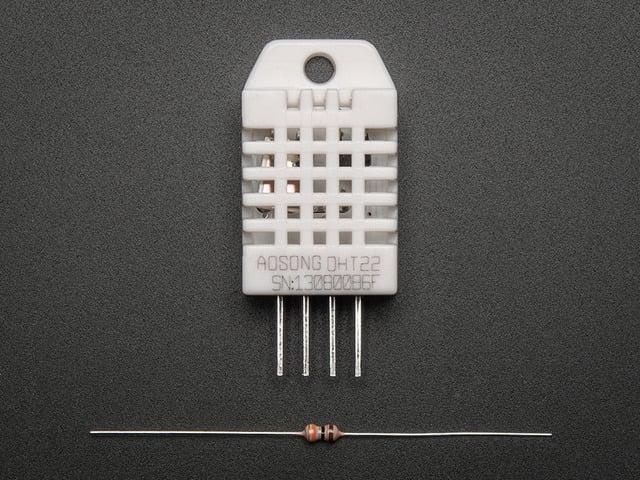 DHT22  temperature-humidity sensor + extras