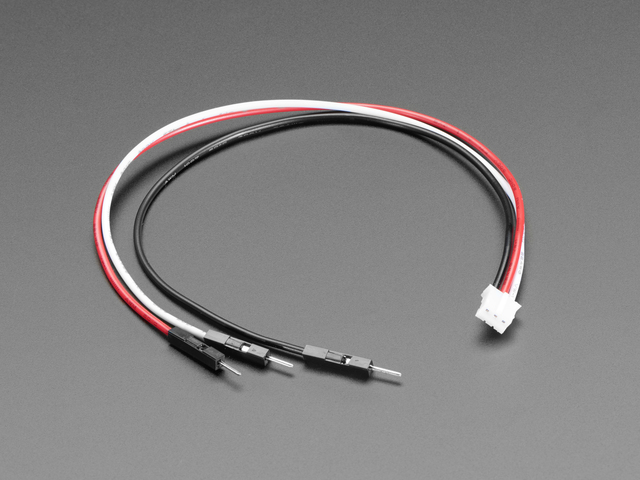 STEMMA JST PH 3-Pin to Male Header Cable - 200mm