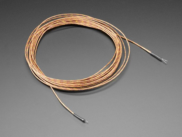 Thermocouple Type-K Glass Braid Insulated - 5m