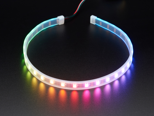Adafruit NeoPixel LED Strip with 3-pin JST PH Connector
