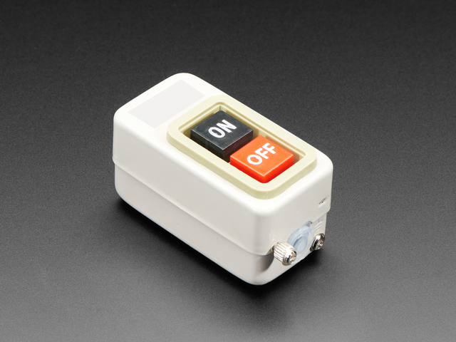 Hefty On-Off Pushbutton Power Switch