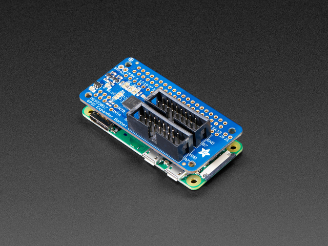 Adafruit GPIO Expander Bonnet - 16 Additional I/O over I2C