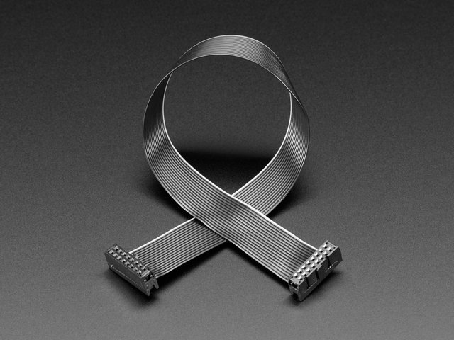 "GPIO Ribbon Cable 2x8 IDC Cable - 16 pins 12"" long"
