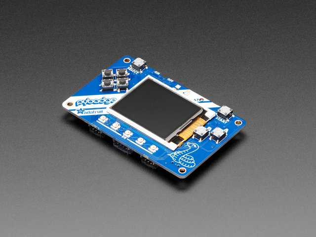 Adafruit PyBadge for MakeCode Arcade, CircuitPython, or Arduino