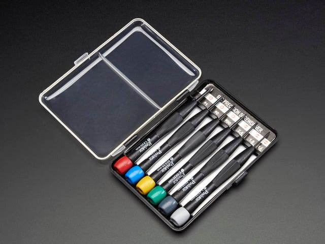 Precision screwdriver set (6 pieces)