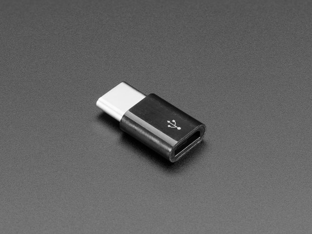 Micro B USB to USB C Adapter