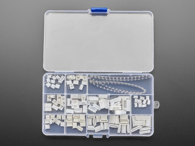JST PH 2.0mm Pitch Connector Kit - 220 Piece Kit