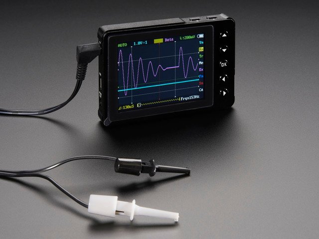 DSO Nano v3 - Pocket-size color digital oscilloscope