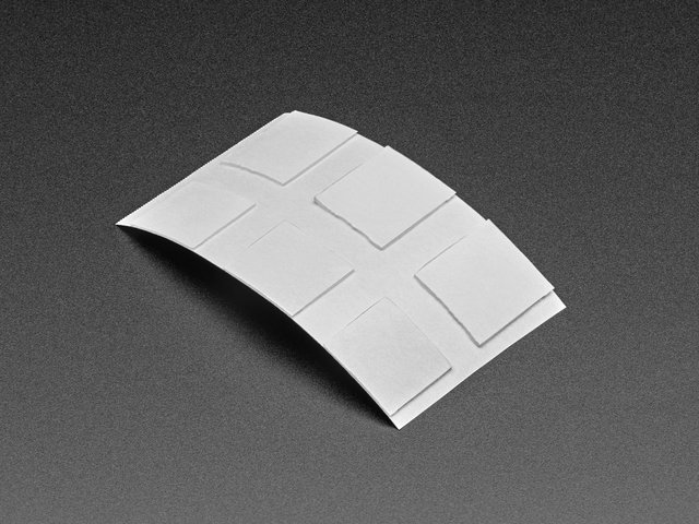 Clear Adhesive Squares - 6 pack