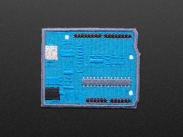 Micro-controllers - Skill badge, iron-on patch