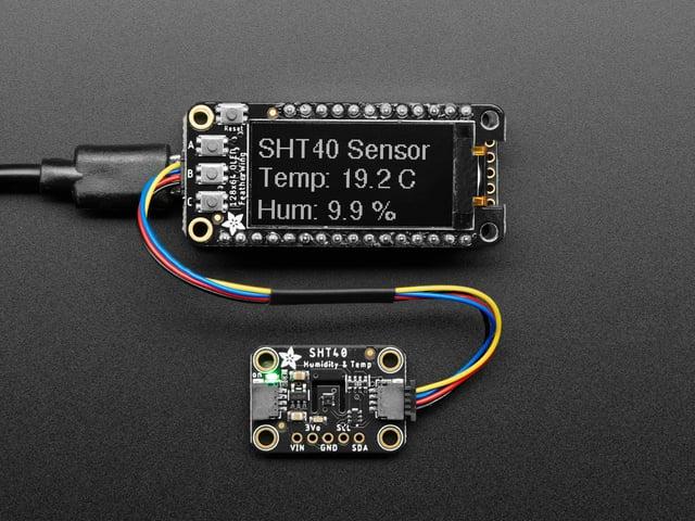 Adafruit Sensirion SHT40 Temperature & Humidity Sensor