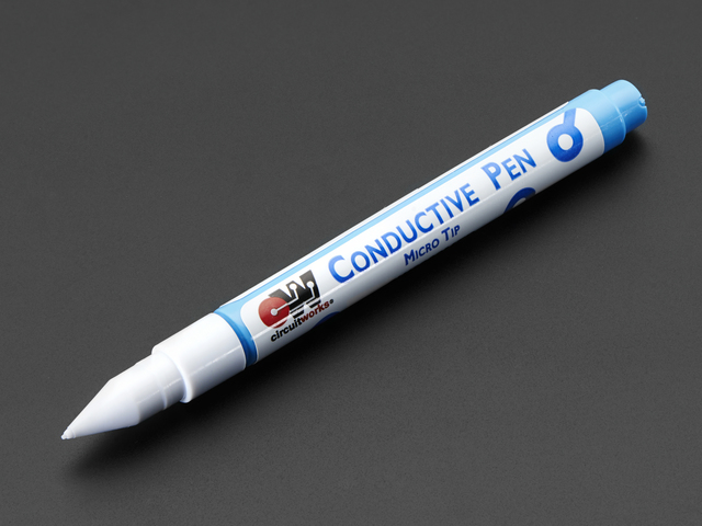 Conductive Silver Ink Pen - Micro Tip