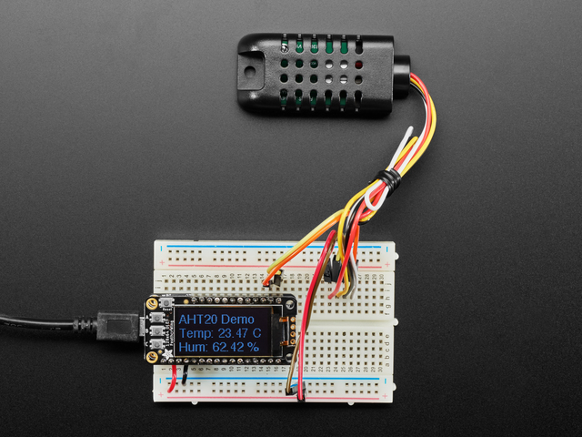 AM2301B - Wired Enclosed AHT20 - Temperature and Humidity Sensor